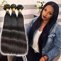 HJ Weave Beauty Brazillian Straight Hair 3 Bundles Cheap Straight Hair Weave Grade 9A Tissage Cheveux Bresilien Weave Human Hair