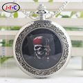 European and American retro classic quartz enamel table soul pirate pocket watch camel of male and female students DS084