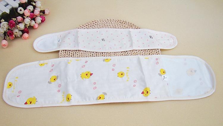newborn to 12 m... Adjustable Organic Cotton Baby Belly Band Waistband Warmer