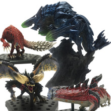 Japan Monster Hunter World Ancient Dragon Model Toy Collectible Monster Figures Action Monster Hunter Game Accessories цена 2017
