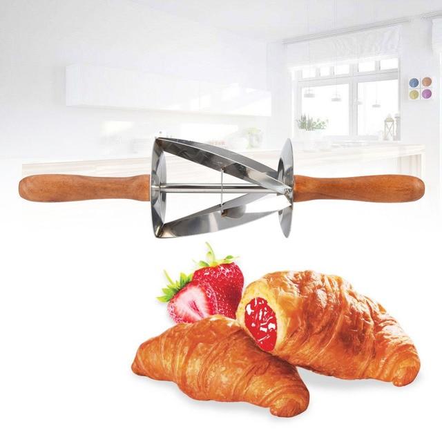driehoek rolling deeg cutter voor maken croissant driehoek rolling