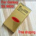 Для S5 Аккумуляторная батарея Льва Золотая Батарея EB-BG900BBC для Galaxy G9006/S5/i9600/G9008V G9009D/G900F/H/S батарея