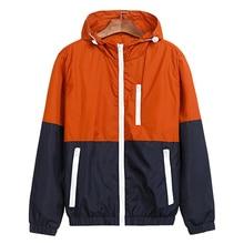 Jacket Men Windbreaker 2017 Autumn Fashion Jacket Men's Hooded Casual Jackets Male Jacket Coat For Men Thin Coat Outwear JK101