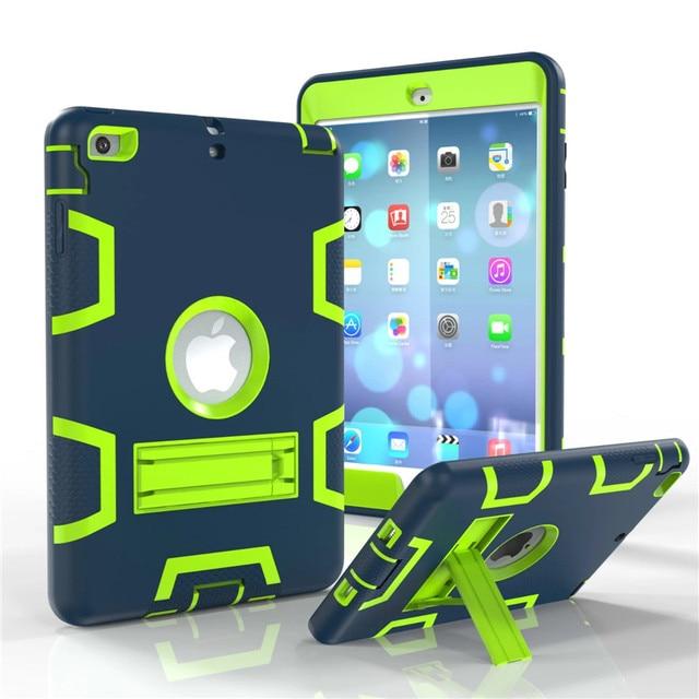 Case for iPad Mini 2 3 1 Shockproof Heavy Duty Plastic+Rubber