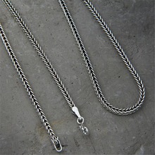 New Mens 925 Sterling Silver Necklace Dragon Bone Snake Chain 2mm Wholesale Jewelry Valentine Day Gift 7 Size Option