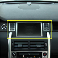 For Land Rover Discovery Sport Inner Console GPS Navigation Cover Trim 2015 2016 3pcs