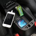 Para Jeep Consola Armrest Storage Center Renegade 2015 Autos caja de ABS Negro Apoyabrazos Guantera Caja De Almacenamiento Caja de Almacenamiento de la Bandeja caja