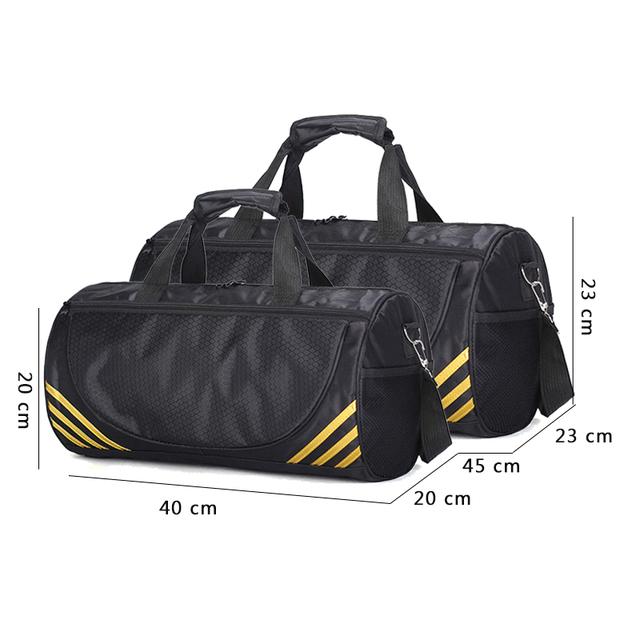 27ba84514a14 FJUN Gym Sport Bags Men and Women Quality Fitness Waterproof Multi-function  Bag Outdoor Travel Camping Sports Handbag