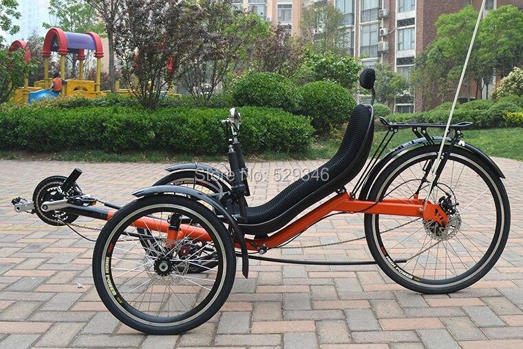 Aliexpress.com: Comprar M010 plegable triciclo reclinado dos ruedas ...