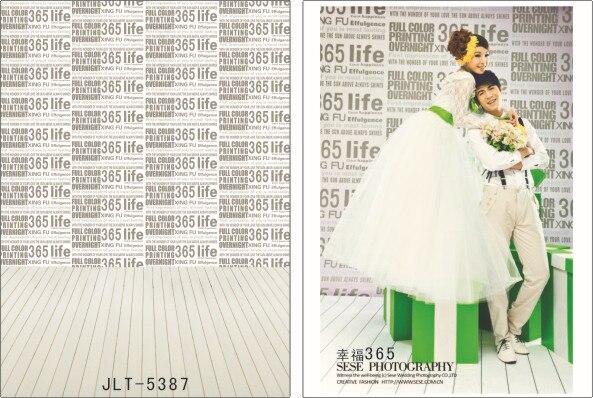 200cm*300cm Vinyl Backdrops for Photography Wedding Photo  Background Studio Prop JL-5387