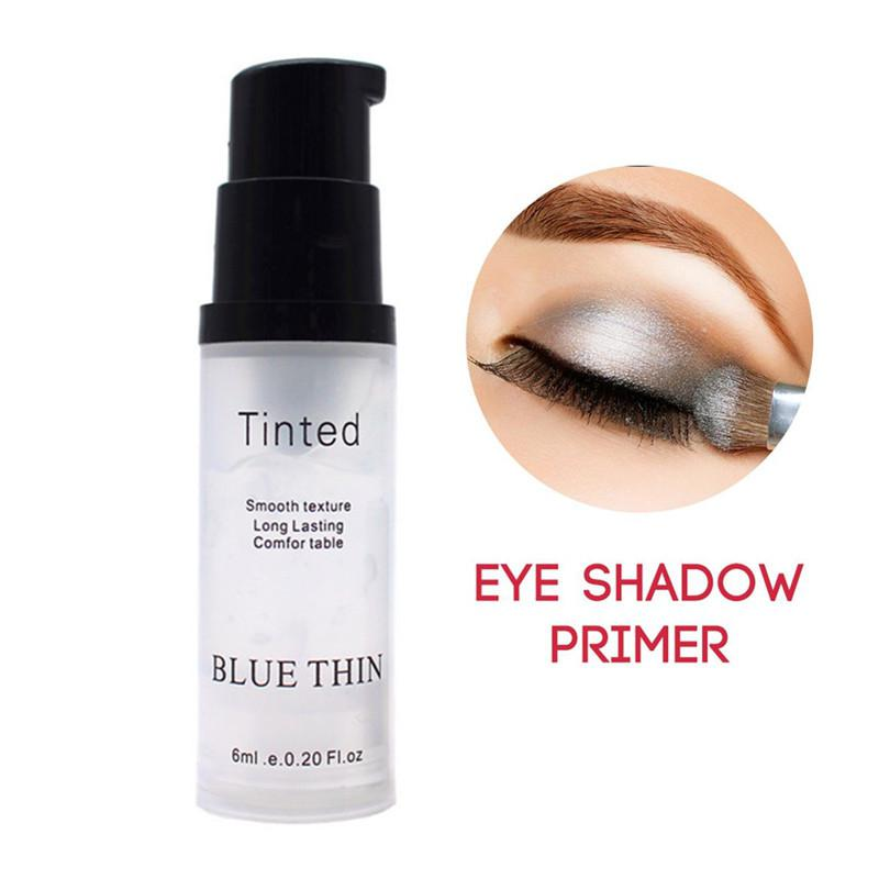 6ml Women Highly Pigmented Eyeshadow Primer Makeup Smooth Texture Face Foundation Base Gel Waterproof Professional Cosmetic image