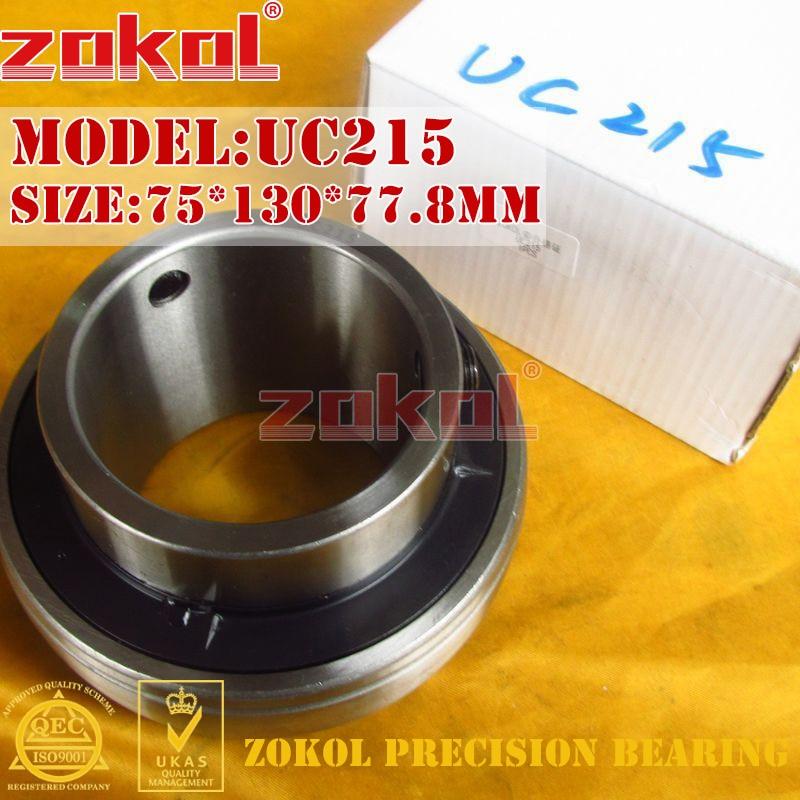 ZOKOL bearing UC215 90515 Pillow Block Ball Bearing 75*130*77.8mm деревянные лыжи tisa 90515 top universal 177