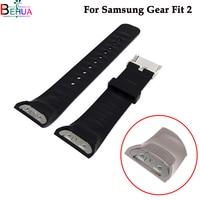 Correa de reloj deportiva de silicona para Samsung Gear Fit 2 SM-R360, accesorios de reloj de pulsera