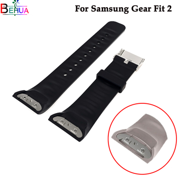 Silicone Sport wristband Watch band For Samsung Gear Fit 2 SM-R360 smart watch For Samsung Gear Fit 2 watchbands Accessories compatible for samsung gear fit 2 watch strap silicone wristband l s replacement for samsung gear fit 2 pro fit 2 sm r360 band