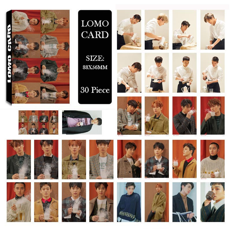 Beads & Jewelry Making Youpop Kpop Exo Universe Album Lomo Cards K-pop New Fashion Self Made Paper Photo Card Photocard Lk543 Finely Processed