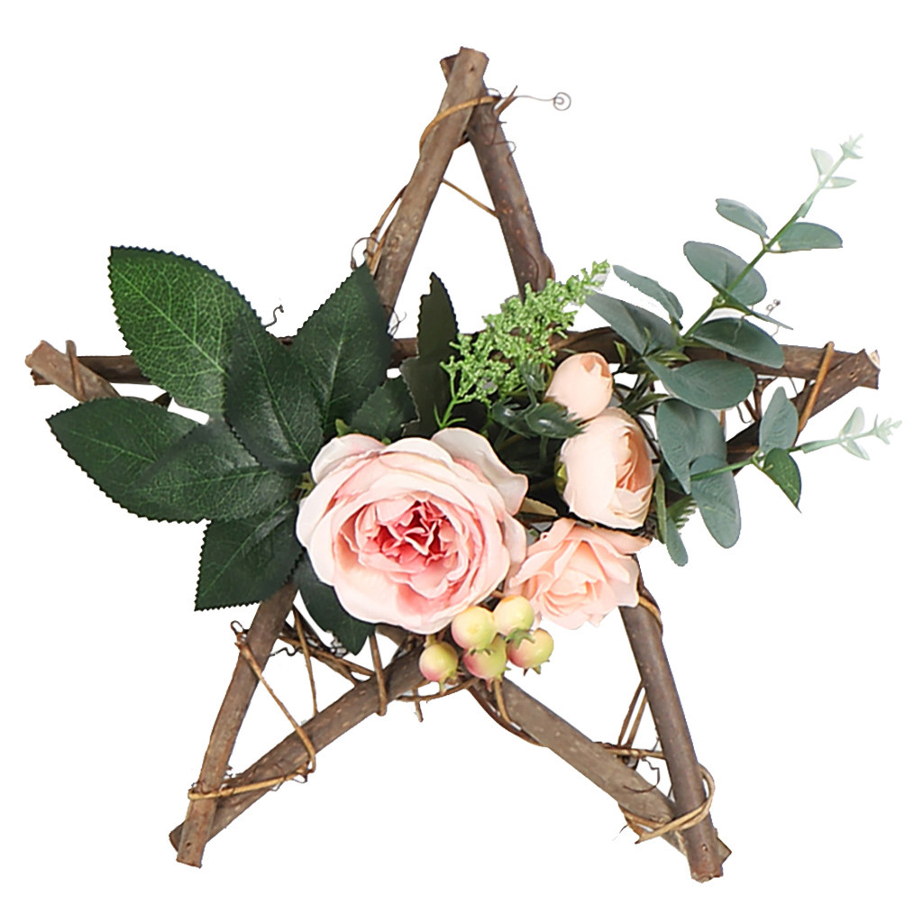Artificial Flower Wreath Door Hanging Wall Window Wedding Home Garden Decor New Arrival Dropshipping
