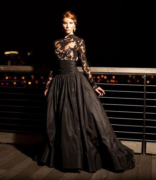 Popular Black Lace Ball Gown-Buy Cheap Black Lace Ball Gown lots ...