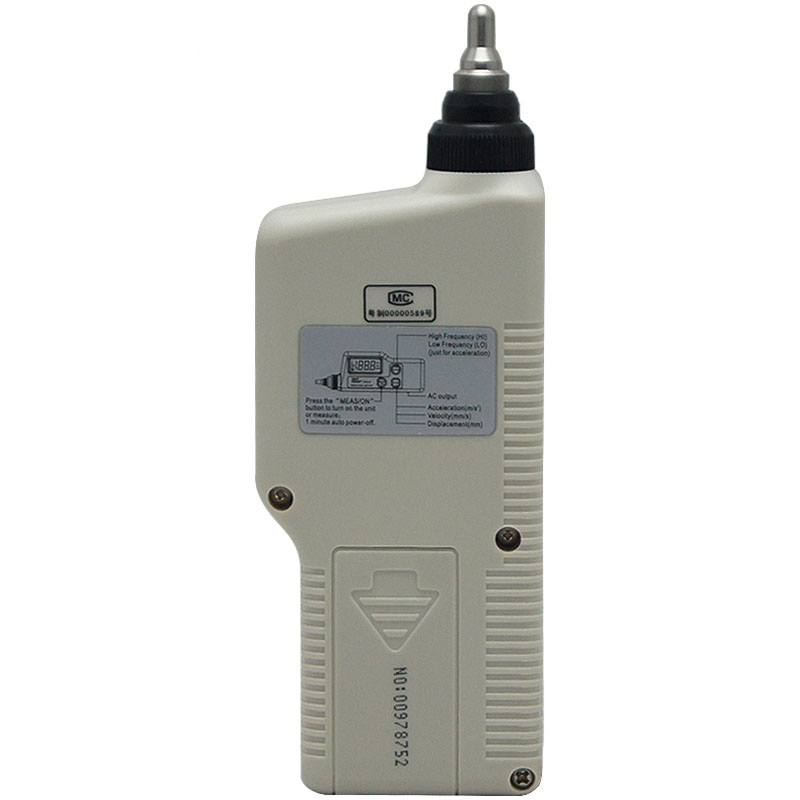 AR63A Digital Vibration Testers Vibrograph Vibrometer AR 63A Vibration Meter Analyzer w Acceleration Velocity Displacement in Vibration Meters from Tools