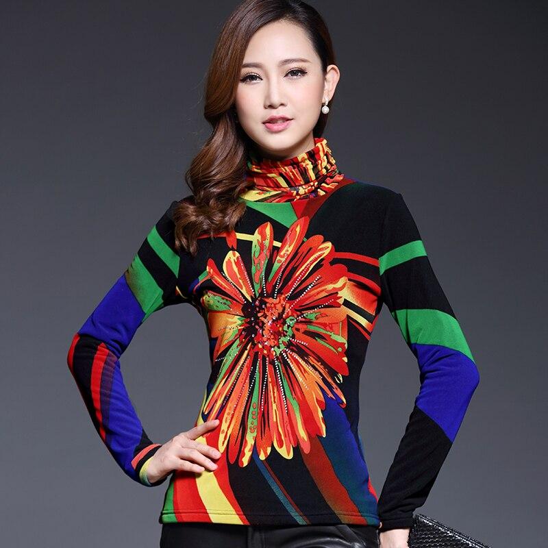 2015 плюс оксамитова зимова термальна - Жіночий одяг