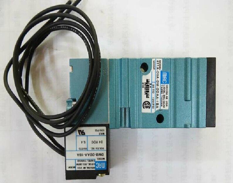 New USA MAC high frequency SOLENOID VALVE 411A-DOA-DM-DDAA-1BA brand new original american mac high frequency electromagnetic valve 45a sa1 daca 1ba