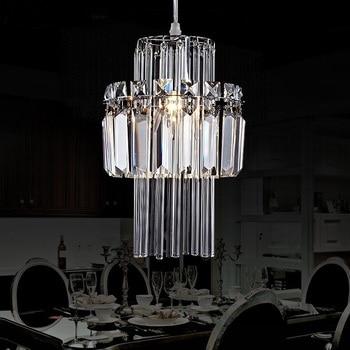 crystal 1/3 heads LED pendant lamp Simple dinner room living room bedroom study lighting Lamp pendant light ZA10