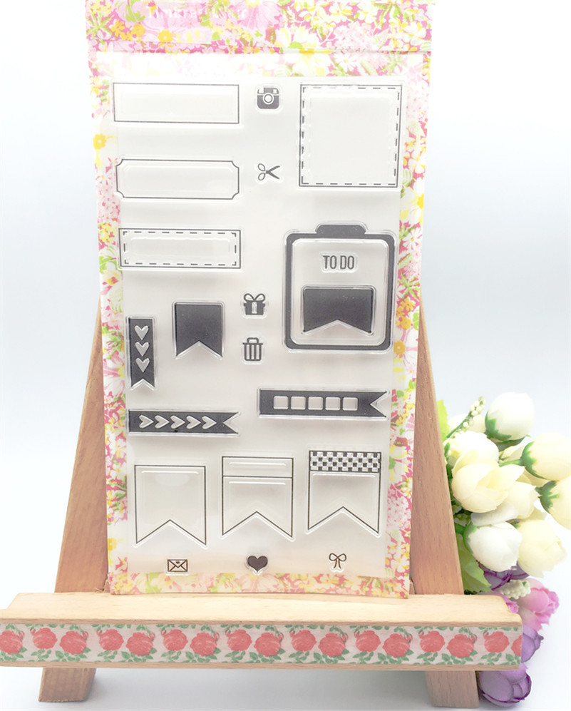 New arrival about label frame design scrapbooking clear stamps christmas gift for DIY paper card kids photo album CL-033 alll kinds of frame design scrapbooking clear stamps christmas gift for diy paper card kids photo album rm 100