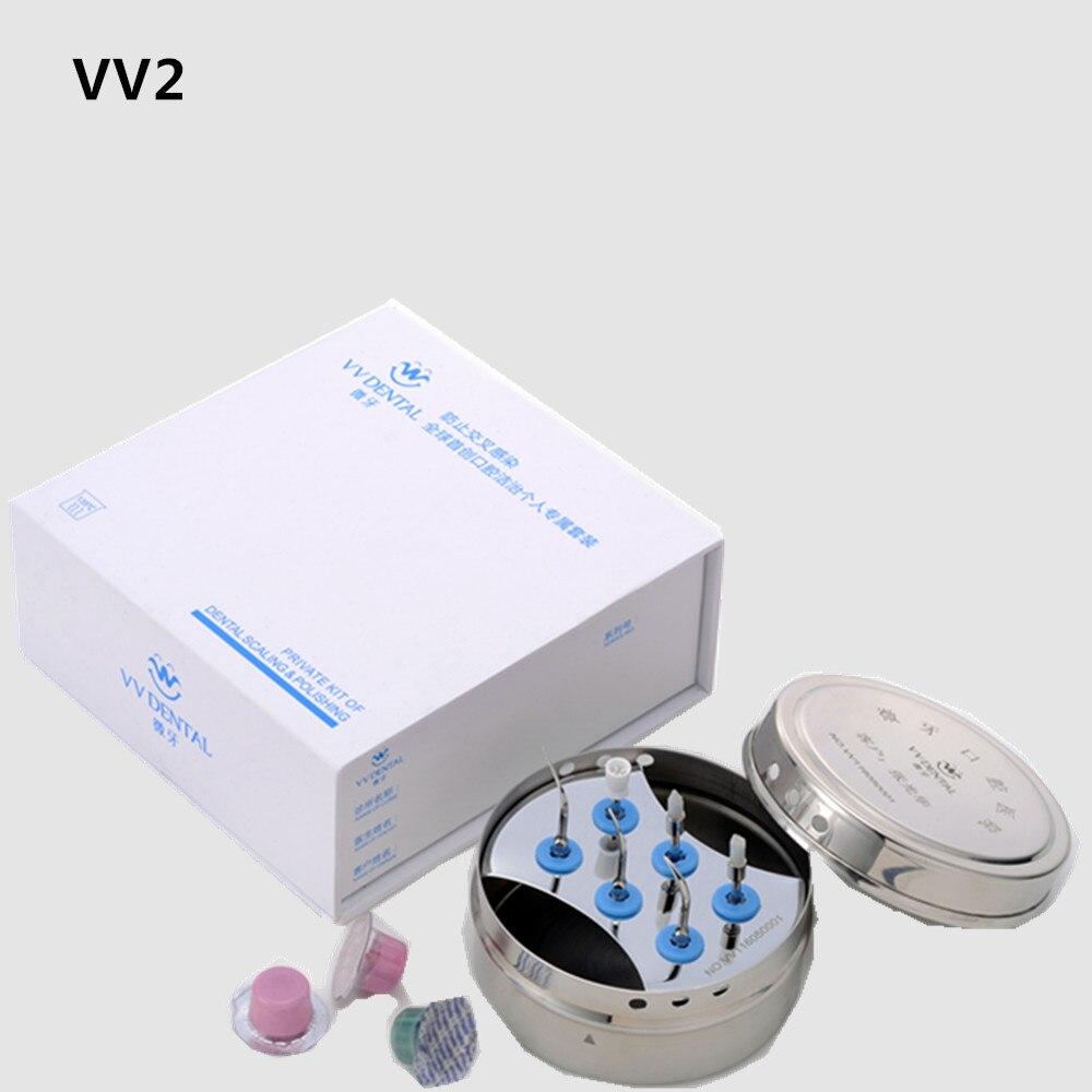 New Arrival VV2 Ultrasonic Dental Scaler Tips Fit on EMS/ WOODPECKER Teeth Whitening Equipment Dental