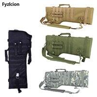 Tactical Rifle Scabbard Backpack Outdoor Hunting Backpack Holster Assault Shotgun Bag Long Gun Protection Carrier Green