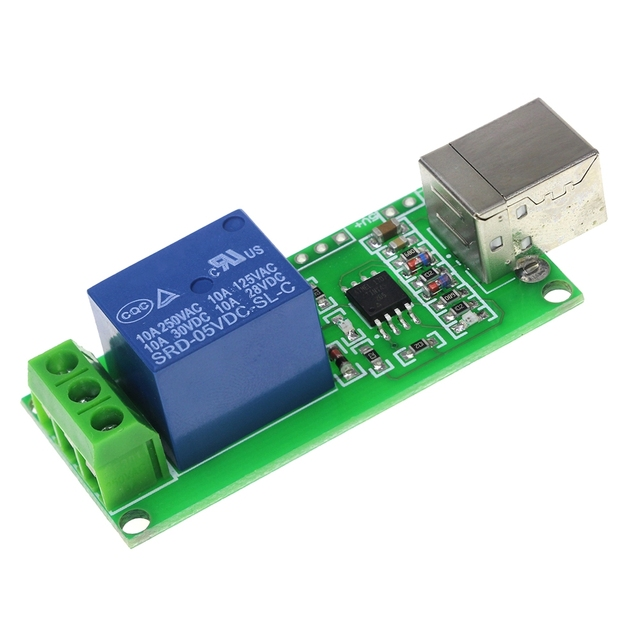 1 Channel  5V USB Relay Control Switch Programmable Computer Control For Smart Home