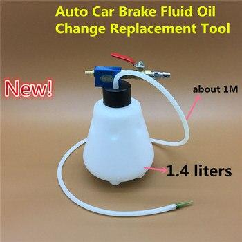 Yeni gelen! 1.4L Oto Araba fren hidroliği Yağ Değişimi Değiştirme Aracı pompa yağı Tahliye Boş Değişimi Drenaj Kiti Ekipmanları Aracı