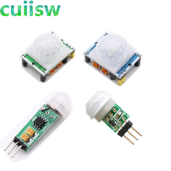 1PCS HC-SR501 HC-SR505 AM312 Adjust IR Pyroelectric Infrared Mini PIR module Motion Sensor Detector Module Bracket for arduino lukmall iphone case