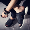 y3 style Gd slippers male personality male sandals caltha shoes drag gladiator