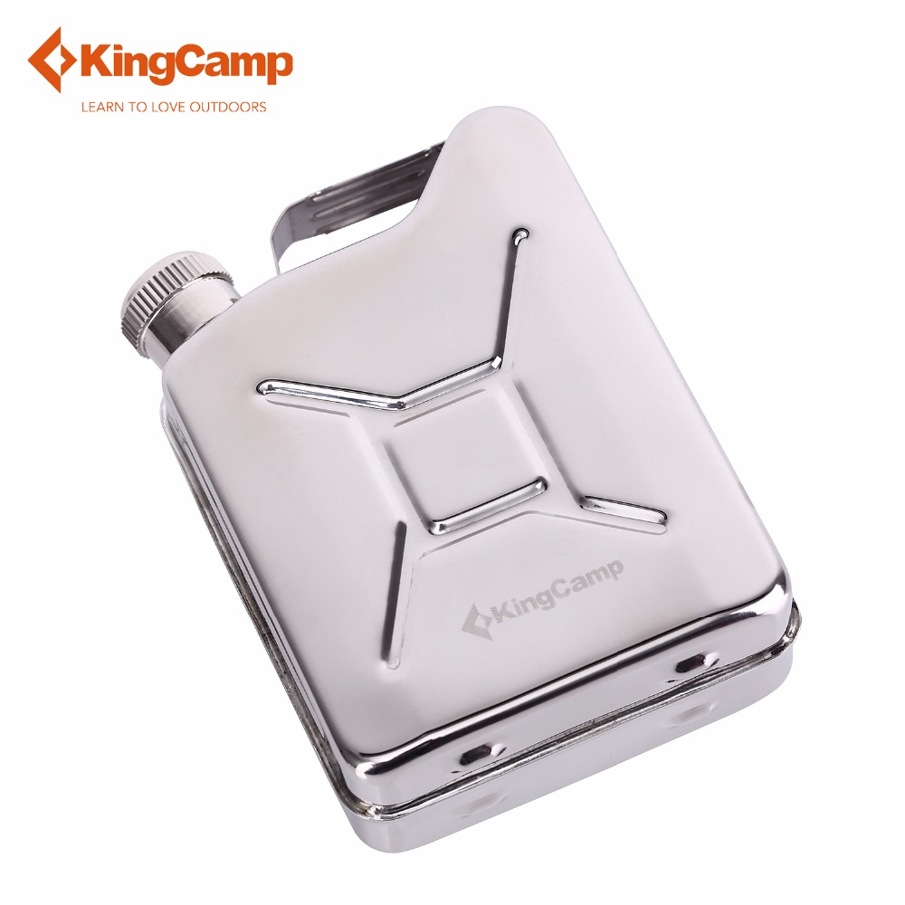 KingCamp Stainless Steel HIP SLASK, Portable for Outdoor Camping Travelling, 110ml/ 3.87 fl. O hot sale portable outdoor camping travel stainless steel hip flask