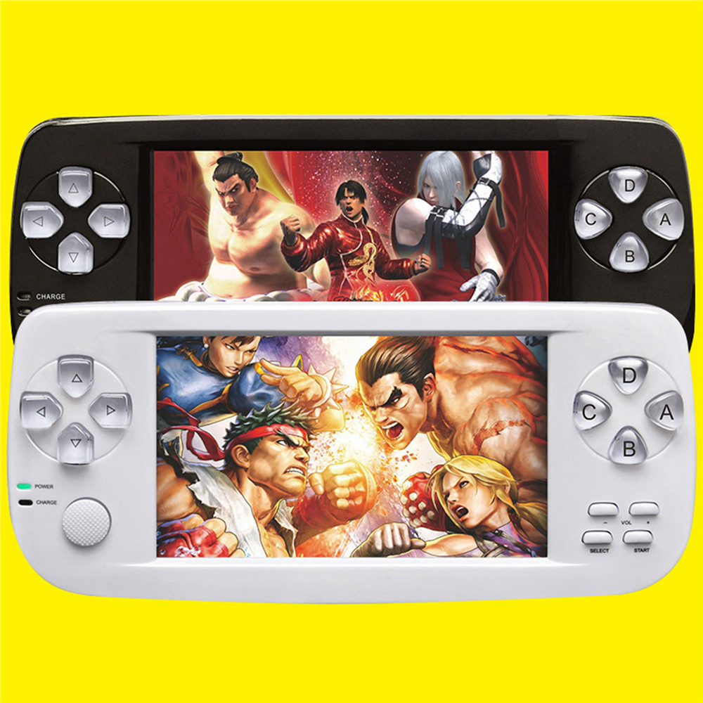 64 Bit 4.3 Inch Handheld Game Player Built-in 3000 Games PAP K3 for NEO/GEO/CPS/NES/GBA/GBC Portable Video Game Console 16G