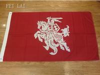 3x5FT флаг Литвы (штат) 100D полиэстер двойной сшитый высокого качества баннер Ensign Бесплатная доставка
