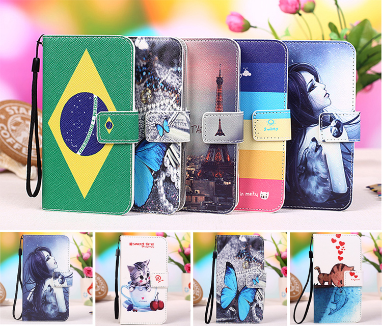 2017 New Flip Cartoon Book case For Blackview A10 A7 A9 Pro P6 P2 Lite p2s BV4000 / BV4000 pro S8 Phone Protective cover case