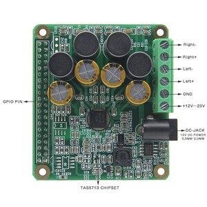 Image 3 - Raspberry Pi เครื่องขยายเสียง HIFI AMP บอร์ดขยายเสียงโมดูล w/Raspberry Pi 4 รุ่น B/Pi 3 รุ่น B +/3B/2B/B +