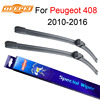QEEPEI Wiper Blades For Peugeot 408 2010 Onwards 30 26 R High Quality Iso9001 Natural Rubber