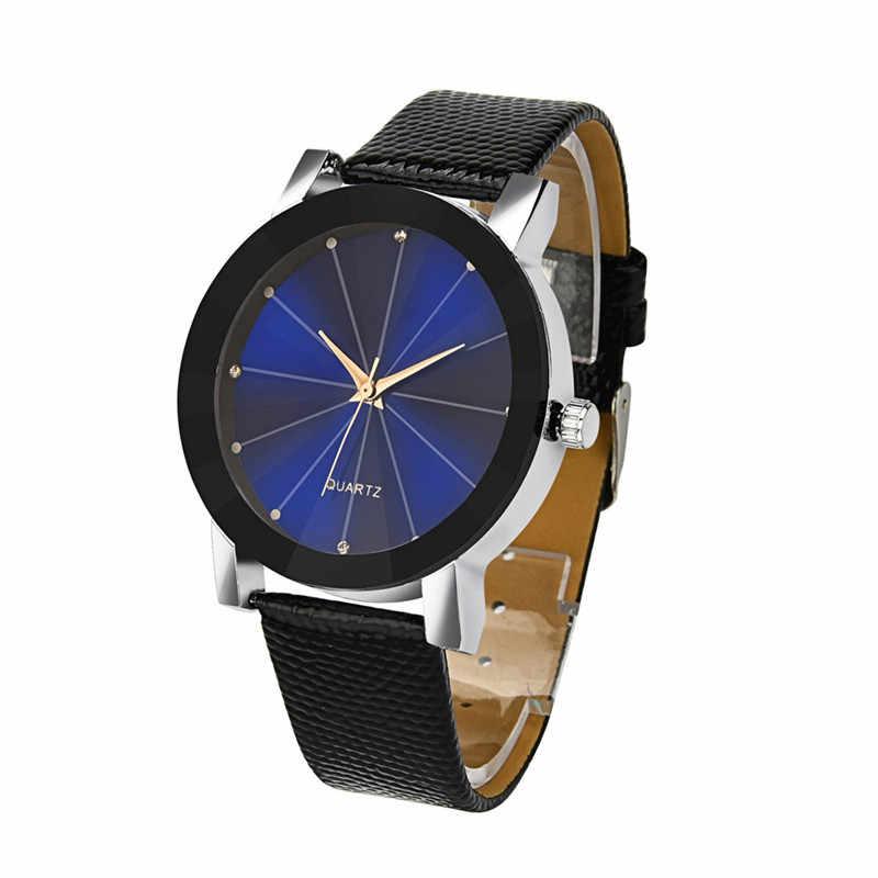חדש גברים שעון יוקרה קוורץ שעון ספורט צבאי נירוסטה חיוג רצועת עור שעון יד הטוב ביותר למכור relogio זכר מתנות QC7