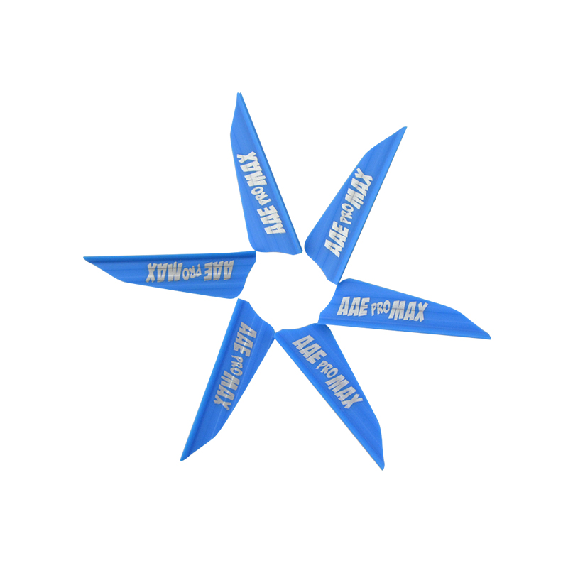 Image 4 - 30pcs Archery 1.75inch Rubber Arrow Feather 8 Colors Right Wing Shield Feather For Outdoor Shooting Sports Accessories-in Bow & Arrow from Sports & Entertainment