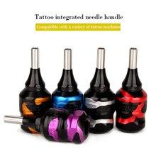 Ручка для татуировки, картридж, 32 мм, Регулируемый Картридж, ручки для татуировки, алюминиевый сплав, машинные ручки, трубы и полюс для DIY тату-машины
