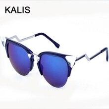 Women Sunglasses Cat Eye Vintage Sunglasses Brand Designer Fashion Female Glasses Lentes Sun Glasses SUN80010+15