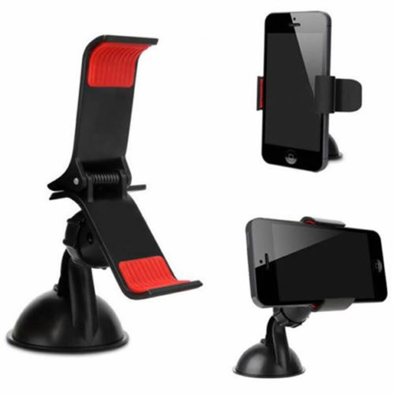 USB Car Charger Cigarette Lighter Mount Holder For Universal Mobile Phone iPhone