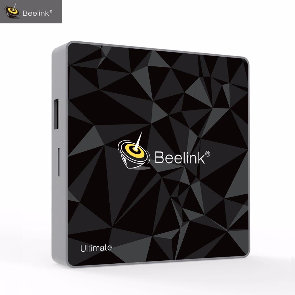 Beelink GT1 Ultimate ТВ коробка 3г g 32 г Amlogic S912 Восьмиядерный CPU DDR4 Android приставка коробки г 5,8 Г г + 4,0 г Двойной WiFi BT 2,4 медиаплеер