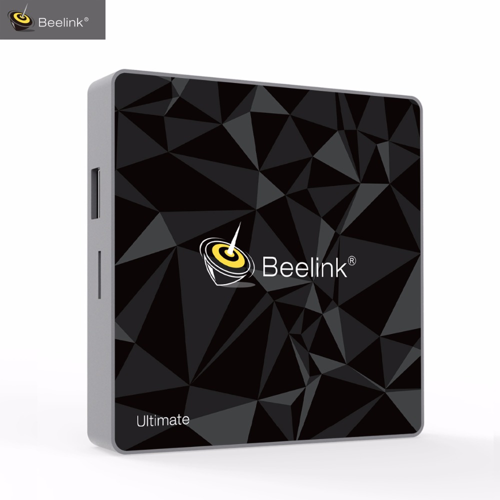 Beelink GT1 Ultime TV Boîte 3g 32g Amlogic S912 Octa Core CPU DDR4 Android Set-Top Boxes 2.4g + 5.8g Double WiFi BT 4.0 Media Player