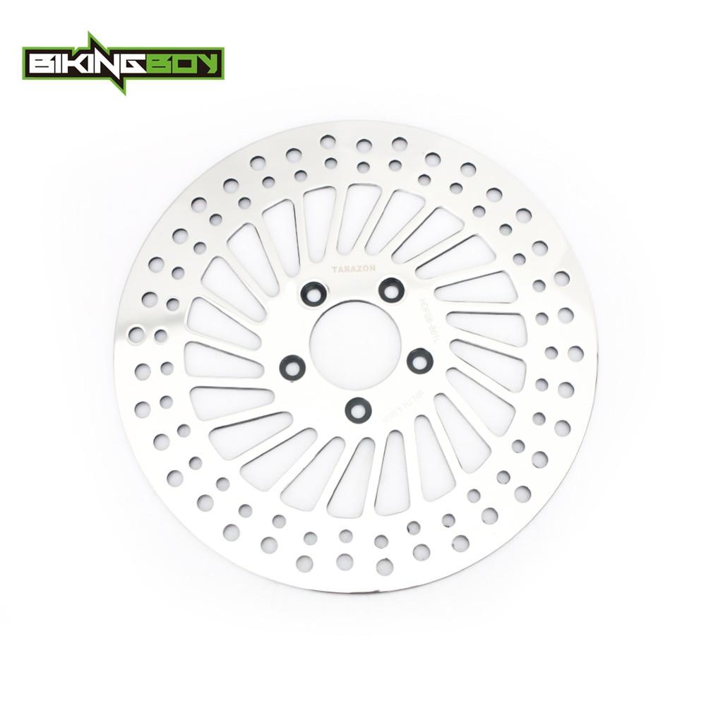 BIKINGBOY 11 8 Front Brake Disc Rotor Disk FLHRC FLHTCU FLHX STREET GLIDE 08 09 10