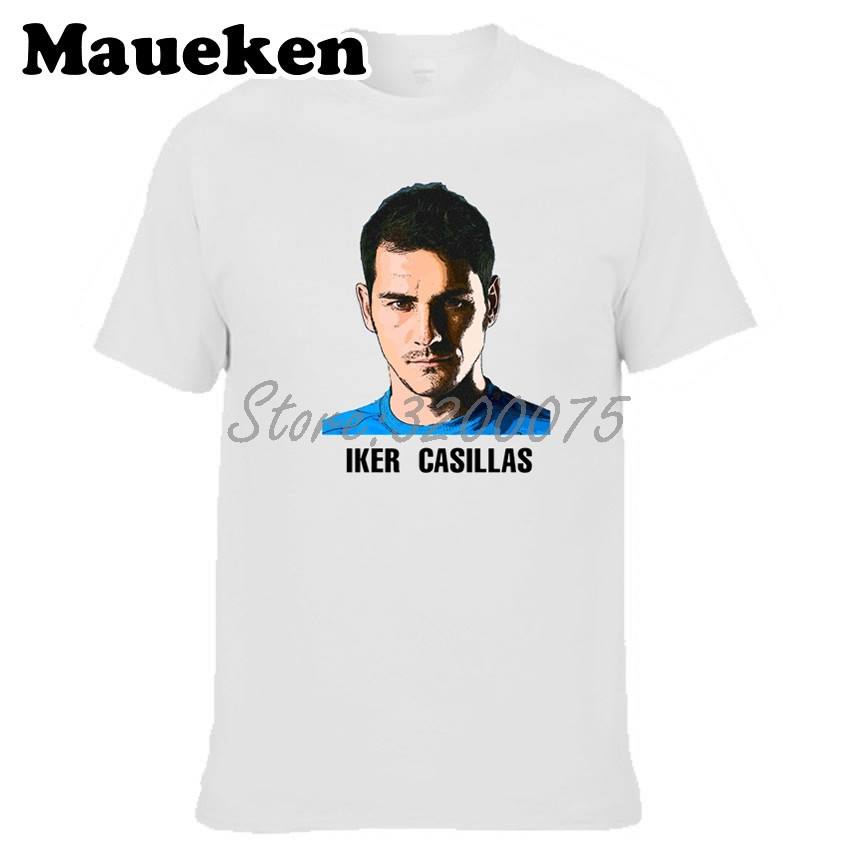 2018 T Shirts Manga Corta Camiseta 100 Algodón Iker