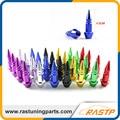 RASTP - Racing Spikes 4.5CM Short JDM Style 4PCS/set Auto Bicycle Car Tire Valve Cap VALVE Stem CAPS LS-QRF017