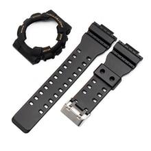 9cf5cf12fd5 Acessórios relógio relógio resina Caso cinta adequado para Casio G-SHOCK  GA GD GLS-100 110 120 dos homens ou cinta esportes das .