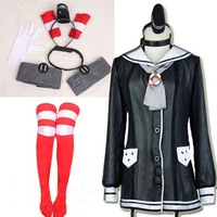 Fantasy Women Kantai Collection Cosplay Costumes Japan Anime Game Sexy Dress Cosplay Lovely Girl Dress Amatsukaze Destroyer